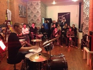 Drum clinic @ MLC Academy, Nottingham